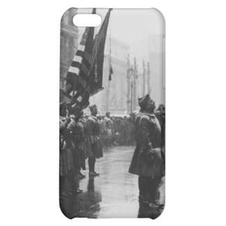 """""""Buffalo"""" Soldiers Returning Colors - 1919 iPhone 5C Cases"""