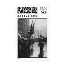 """""""Buffalo"""" Soldiers Returning Colors - 1919 Postage"""