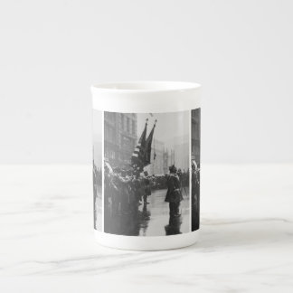 """""""Buffalo"""" Soldiers Returning Colors - 1919 Tea Cup"""
