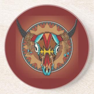 Buffalo Spirit Beverage Coaster