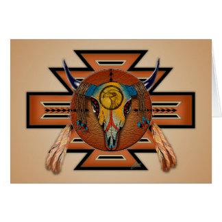 Buffalo Spirit Greeting Card