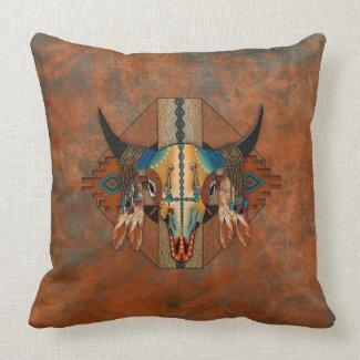 Buffalo Spirit Pillow