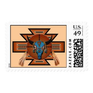 Buffalo Spirit Postage Stamp