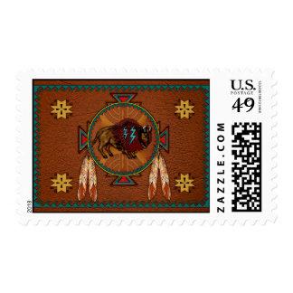 Buffalo Spirit Postage Stamps
