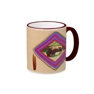 Buffalo spirit ringer mug