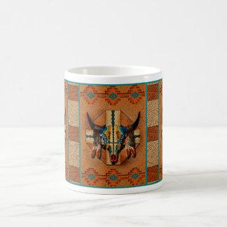 Buffalo Spirit Shield Classic White Coffee Mug