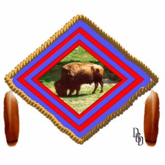 Buffalo spirit statuette