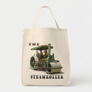 Buffalo Springfield SteamRoller Grocery Tote Bag