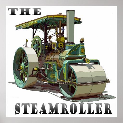Buffalo Springfield SteamRoller Poster