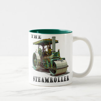 Buffalo Springfield SteamRoller Two-Tone Coffee Mug
