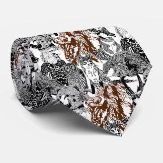 Buffalo Stand-out Tie