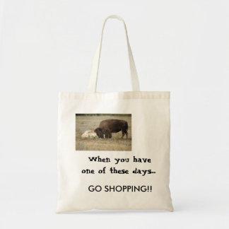 Buffalo style bad day........ tote bag