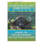 Buffalo Success Greeting Card