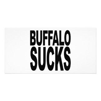 Buffalo Sucks Card