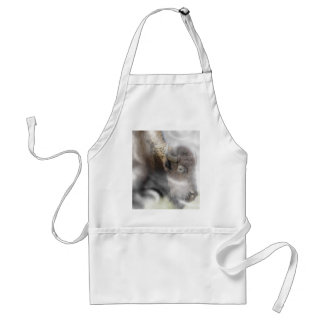 Buffalo Surrounded by Clouds Adult Apron