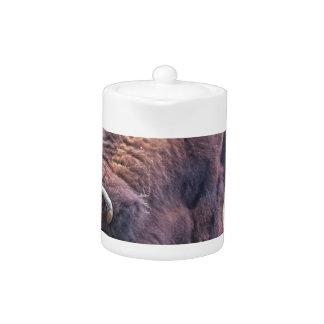 Buffalo Teapot