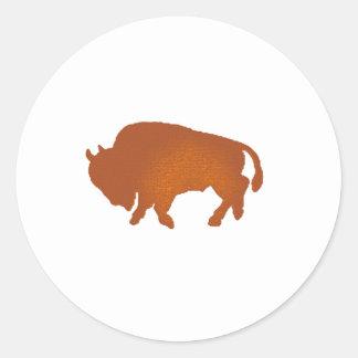 Buffalo Terra Classic Round Sticker