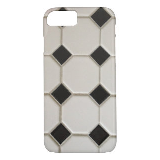 Buffalo Tile 1907 Black and White iPhone 8/7 Case