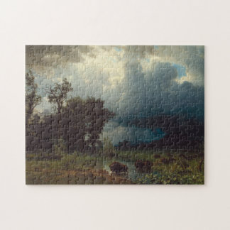 Buffalo Trail: The Impending Storm Jigsaw Puzzle