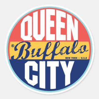 Buffalo Vintage Label