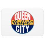 Buffalo Vintage Label Rectangular Magnets