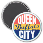 Buffalo Vintage Label Refrigerator Magnets