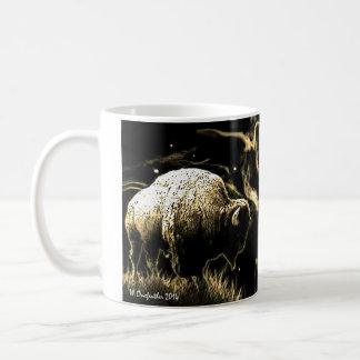 Buffalo Vision Classic White Coffee Mug