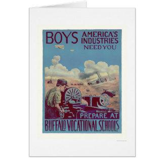 Buffalo Vocational Schools (US02061) Card