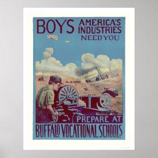 Buffalo Vocational Schools (US02061) Poster
