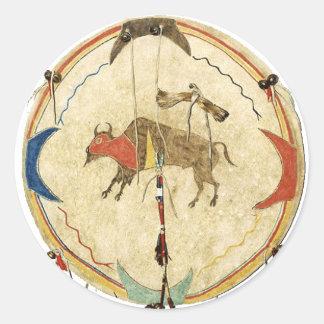 Buffalo Warrior Shield Sticker