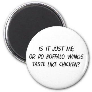 Buffalo WIngs 2 Inch Round Magnet