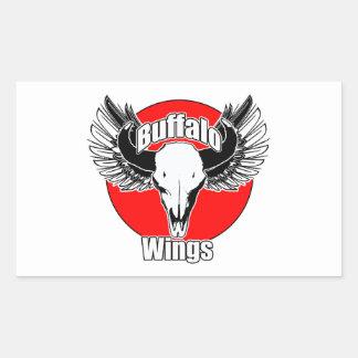 Buffalo Wings 2 Rectangular Sticker