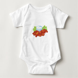 Buffalo Wings Baby Bodysuit