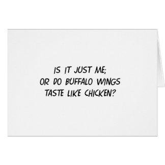 Buffalo WIngs Greeting Card