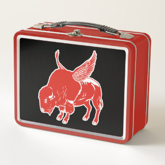 Buffalo Wings Metal Lunch Box
