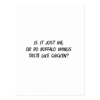 Buffalo WIngs Postcard