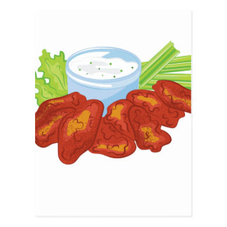 Buffalo Wings Postcard