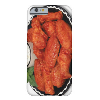 Buffalo wings with blue cheese barely there iPhone 6 case