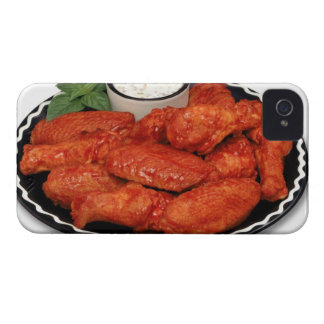 Buffalo wings with blue cheese iPhone 4 case