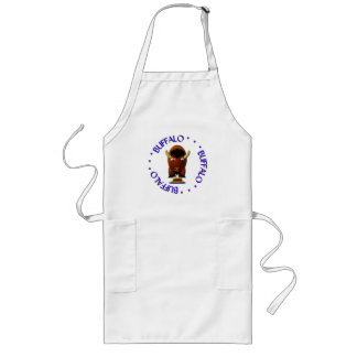 Buffalo with Beef on Weck and Buffalo Wings Apron