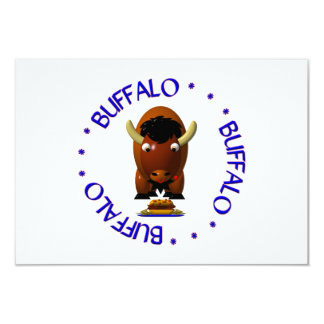 Buffalo with Beef on Weck and Buffalo Wings Card