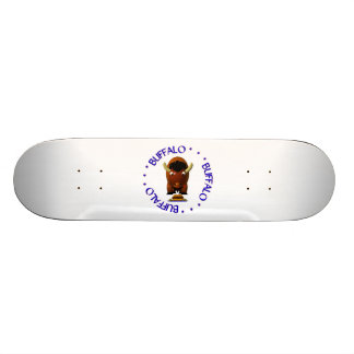 Buffalo with Beef on Weck and Buffalo Wings Skateboard Deck