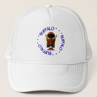 Buffalo with Beef on Weck and Buffalo Wings Trucker Hat