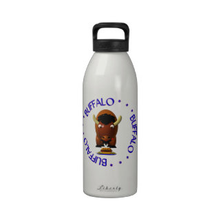 Buffalo with Beef on Weck and Buffalo Wings Drinking Bottle