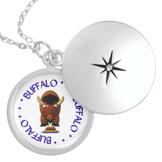 Buffalo with Beef on Weck & Buffalo Wings Necklace