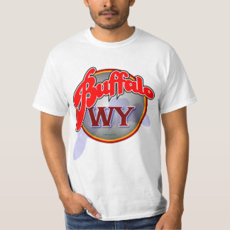 Buffalo WY swoop shirt