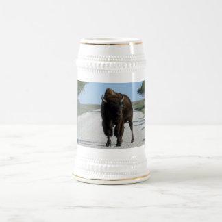 Buffaloed! Beer Stein