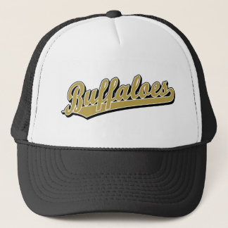 Buffaloes in Gold and White Trucker Hat