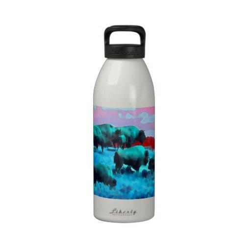 Buffaloes Reusable Water Bottles
