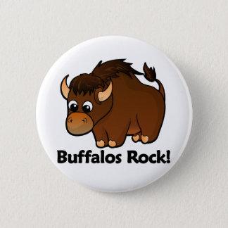 Buffalos Rock! Button